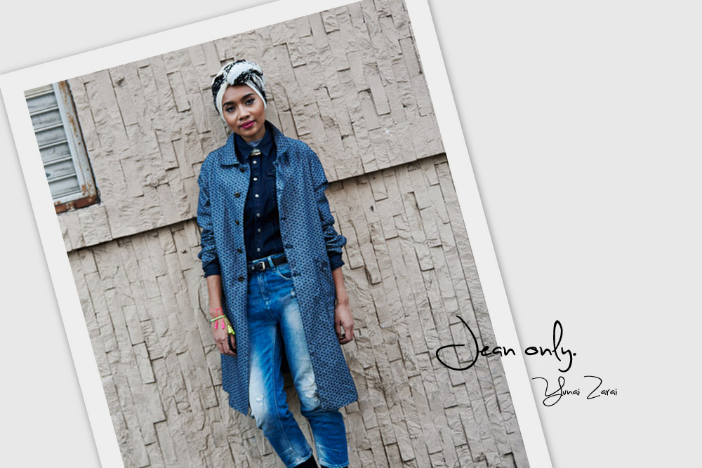Yuna Zarai - Look Total Jean